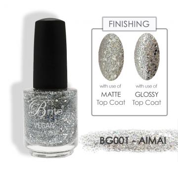 Brite Vegan Nail Polish (Glitter) - BG001