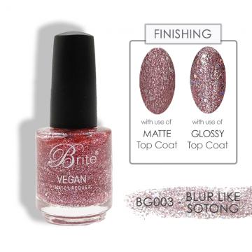 Brite Vegan Nail Polish (Glitter) - BG003