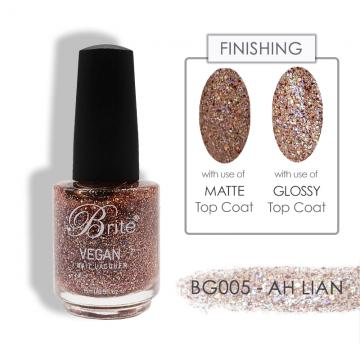 Brite Vegan Nail Polish (Glitter) - BG005