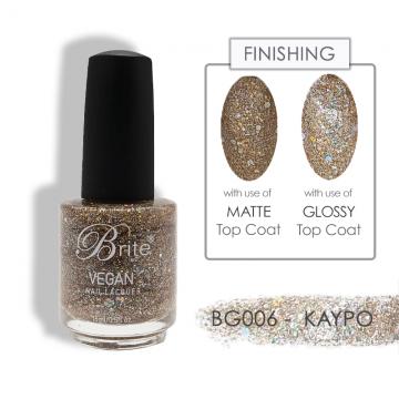 Brite Vegan Nail Polish (Glitter) - BG006