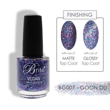 Brite Vegan Nail Polish (Glitter) - BG007