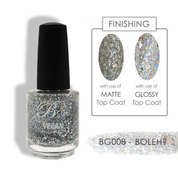 Brite Vegan Nail Polish (Glitter) - BG008