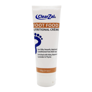 ClearZal Foot Food Nutritional Cream