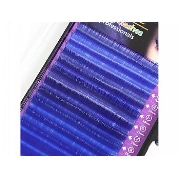 Oiche Color Silk Lash-C /Blue/16Line/0.07/8~14