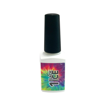 NU Tie Dye Gel Polish - 001 BLACK ICE